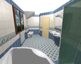 horní koupelna-moře