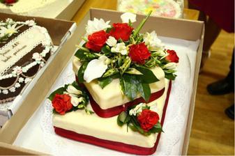 nádherný dort od Marušky