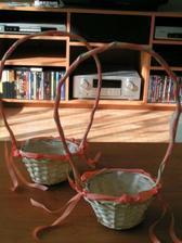 košíčky pro moje dvě družičky.