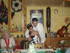 ke krásjení dortu