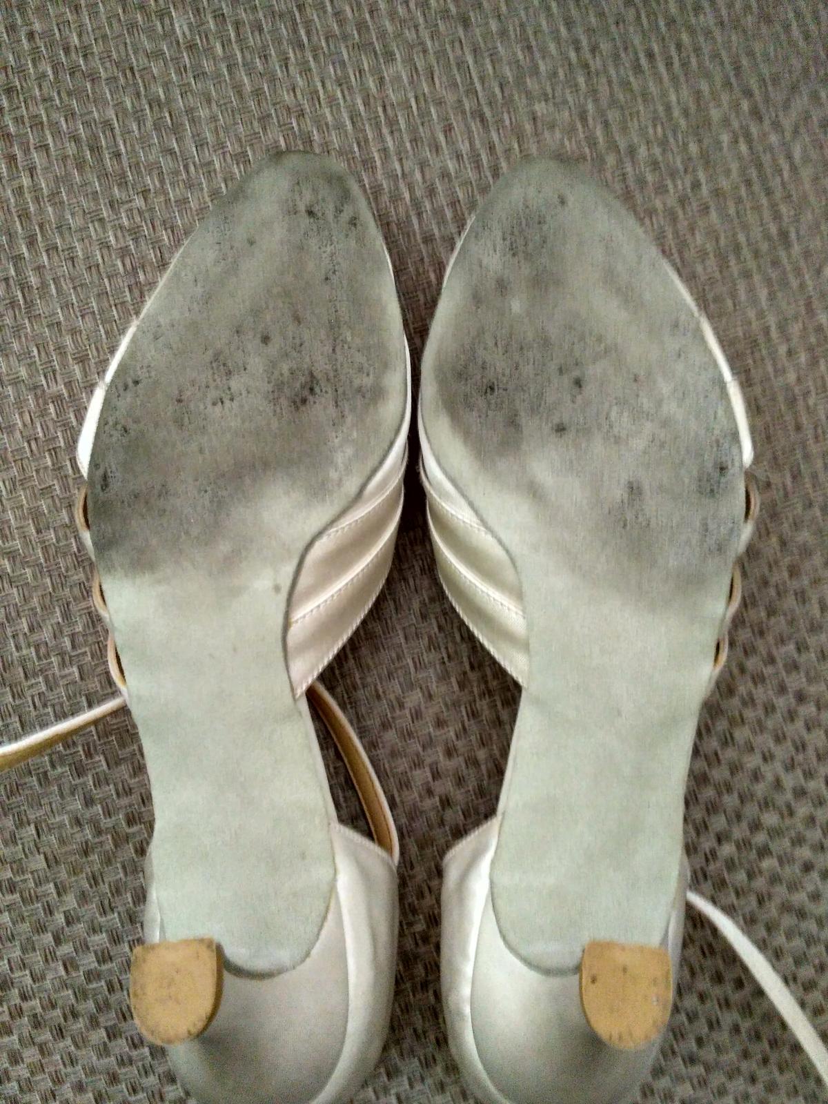 Svadobné tanečné topánky - Obrázok č. 3