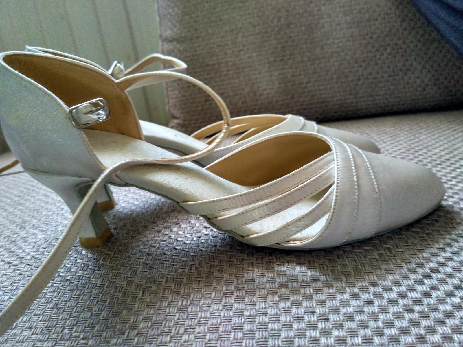 Svadobné tanečné topánky - Obrázok č. 2
