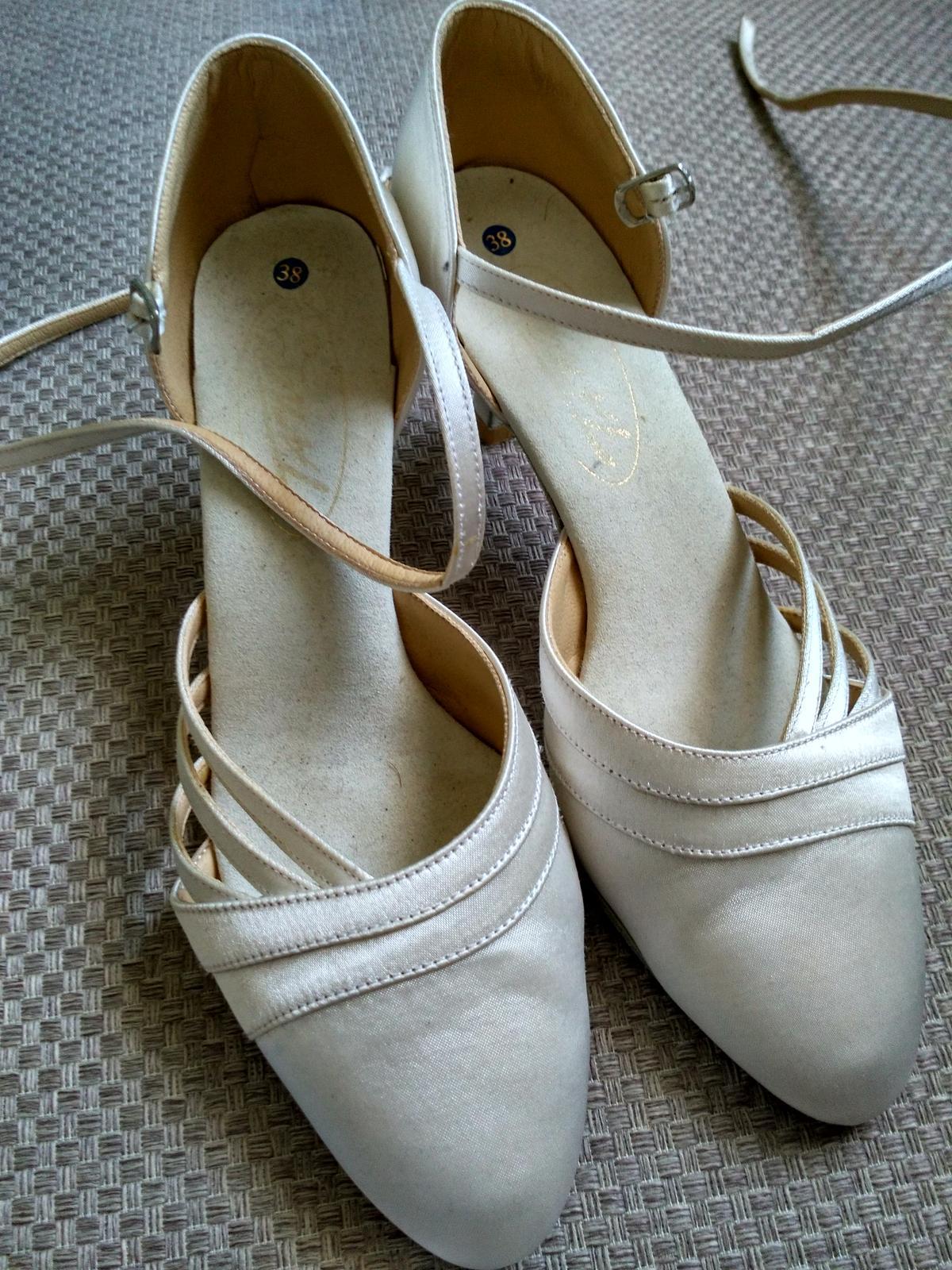 Svadobné tanečné topánky - Obrázok č. 1