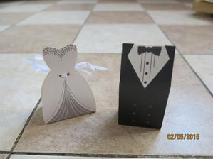 krabičky pro svatebčany