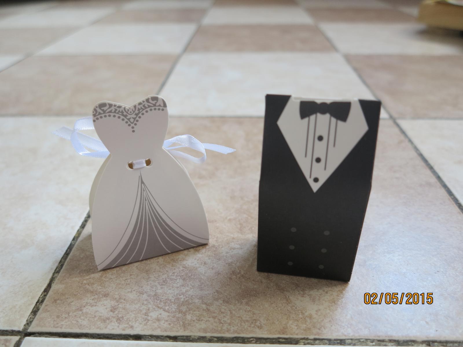 Co už máme :) - krabičky pro svatebčany