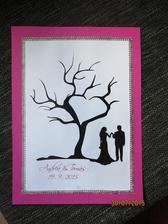 potuněný svatební strom