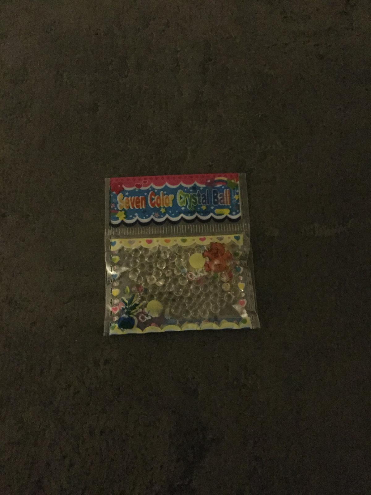 Gelové vodní perly průhledné nepoužité - Obrázek č. 1