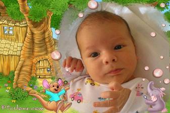 Kubík - narodil se 10.4.2010