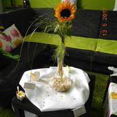 Karafa, váza na kvety,