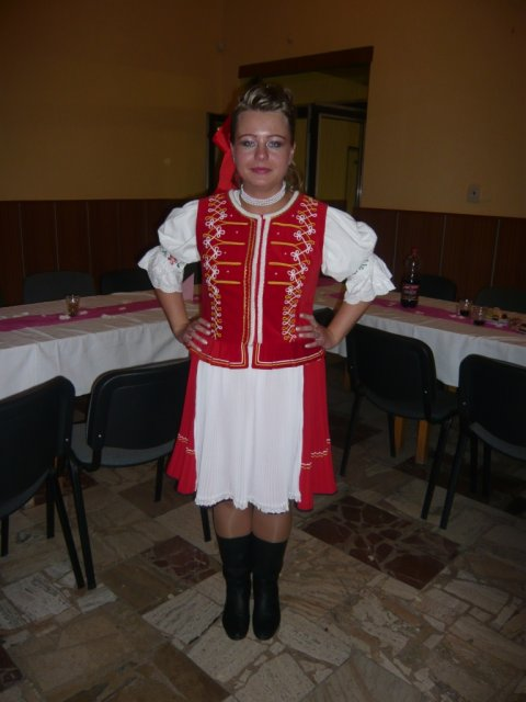Monika Kyjovská{{_AND_}}Daniel Novotný - v kroji