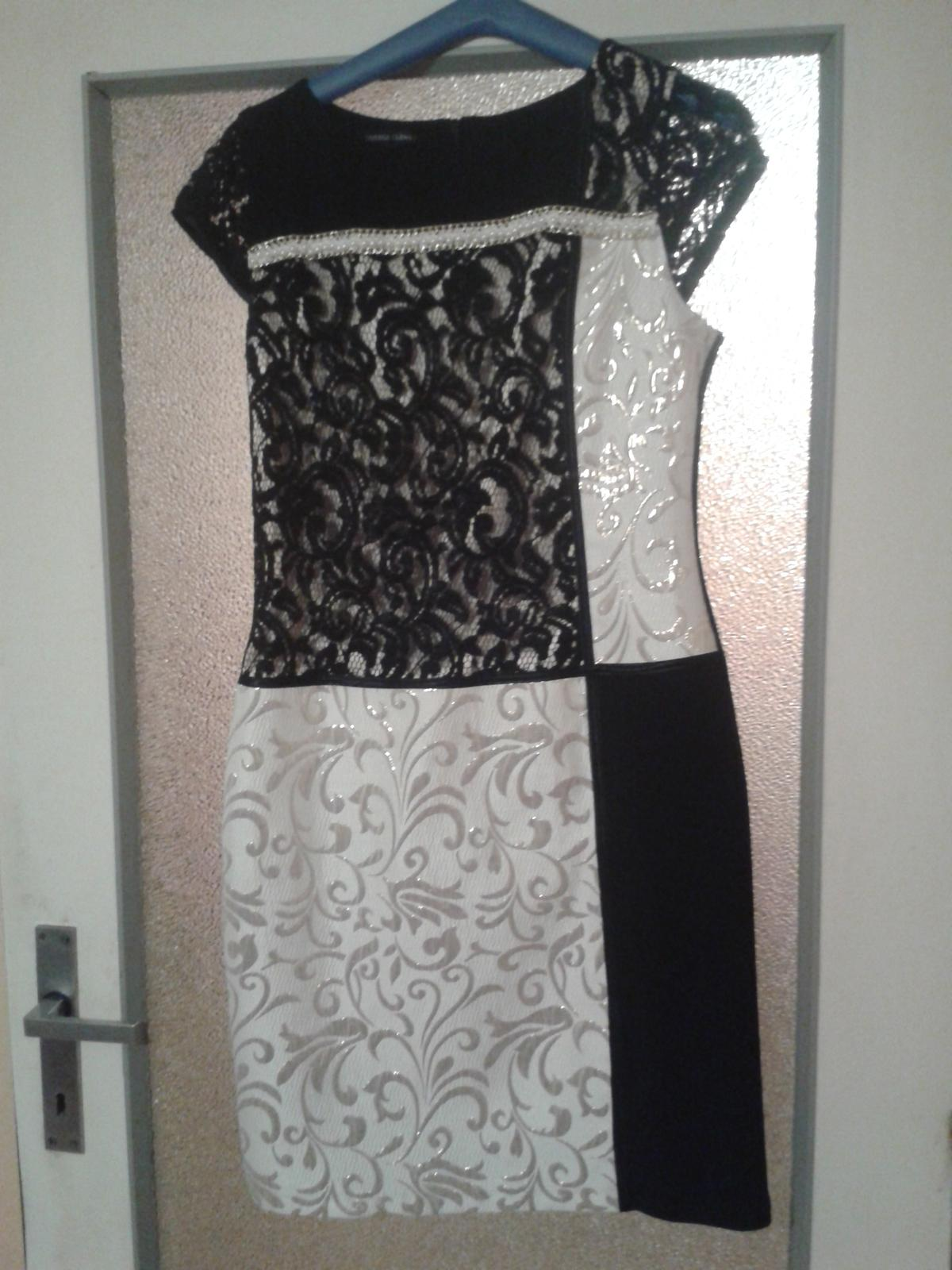 Bieločierne šaty - Obrázok č. 1