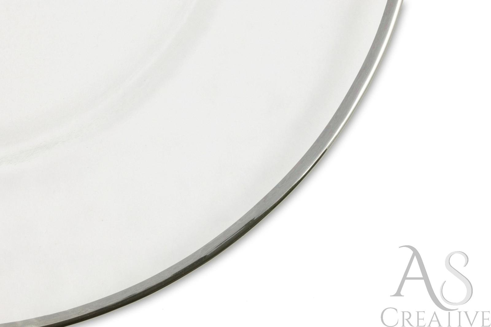 Klubový tanier na predaj Silver rim - Obrázok č. 2