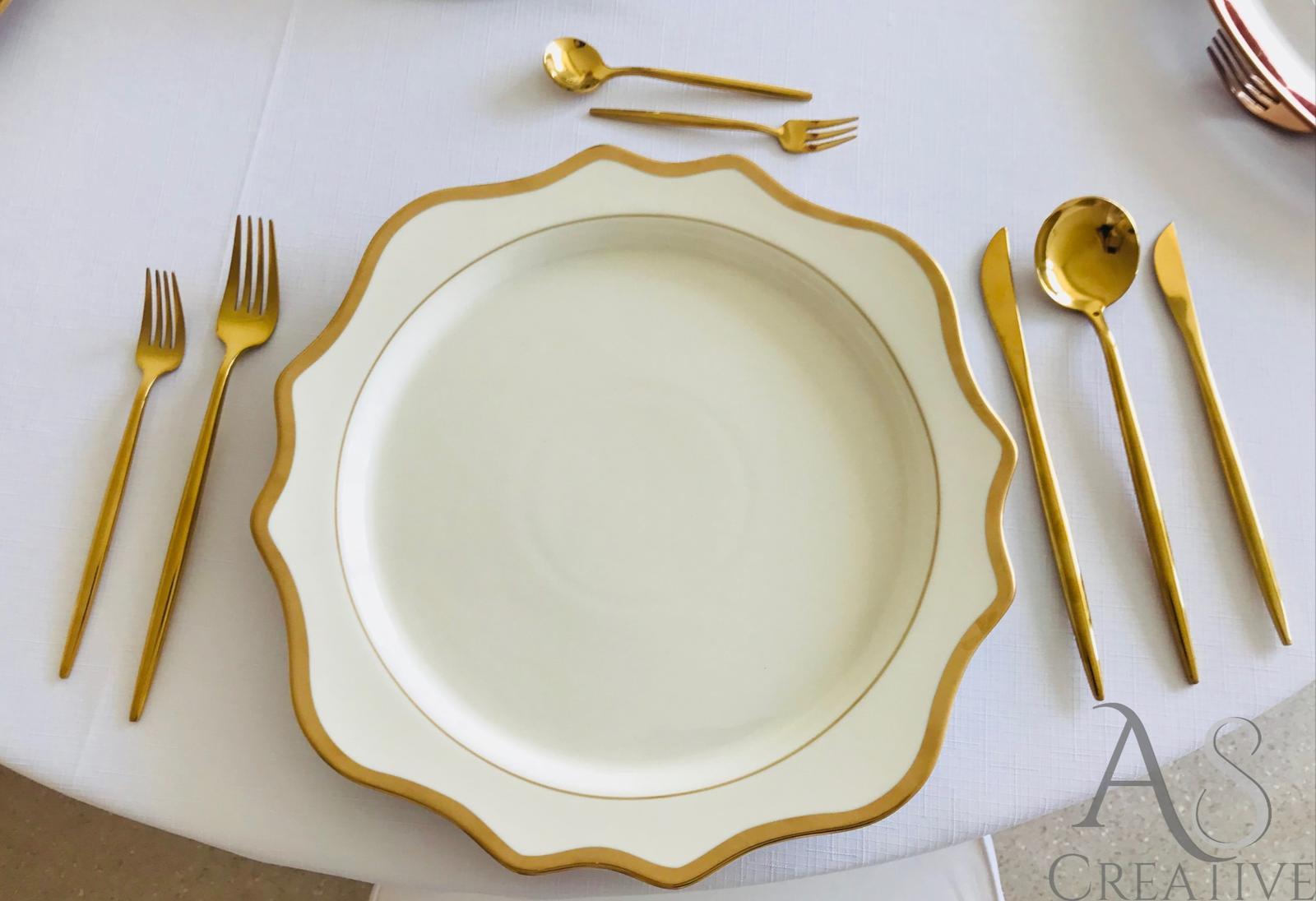 Porcelánové klubové taniere - prenájom  - Obrázok č. 2