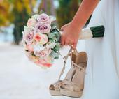 svatební sandálky, 35