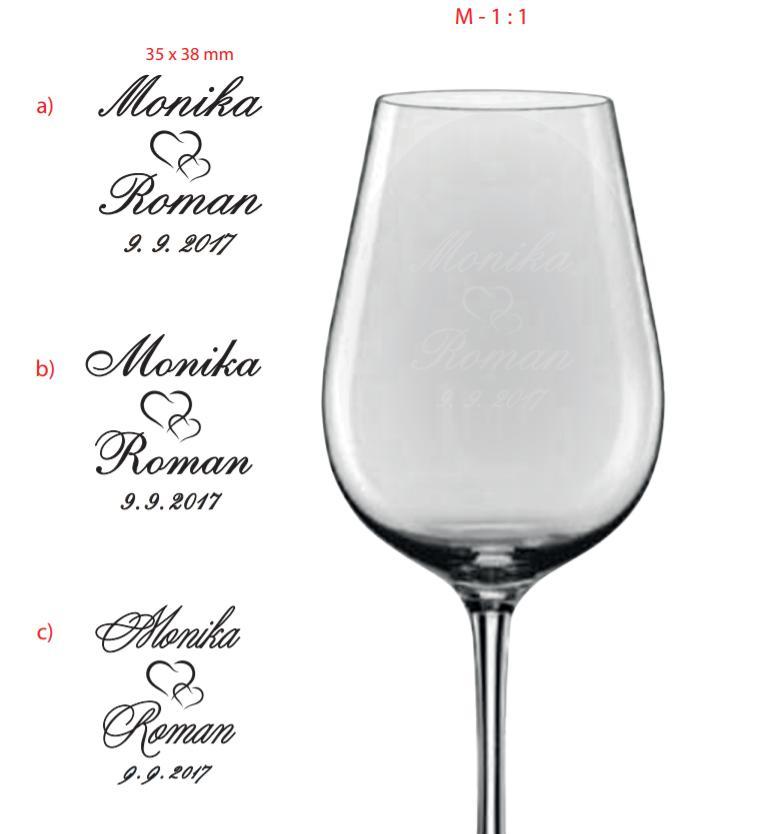 Přípravy na náš velký den D. - Svatební skleničky budou :)