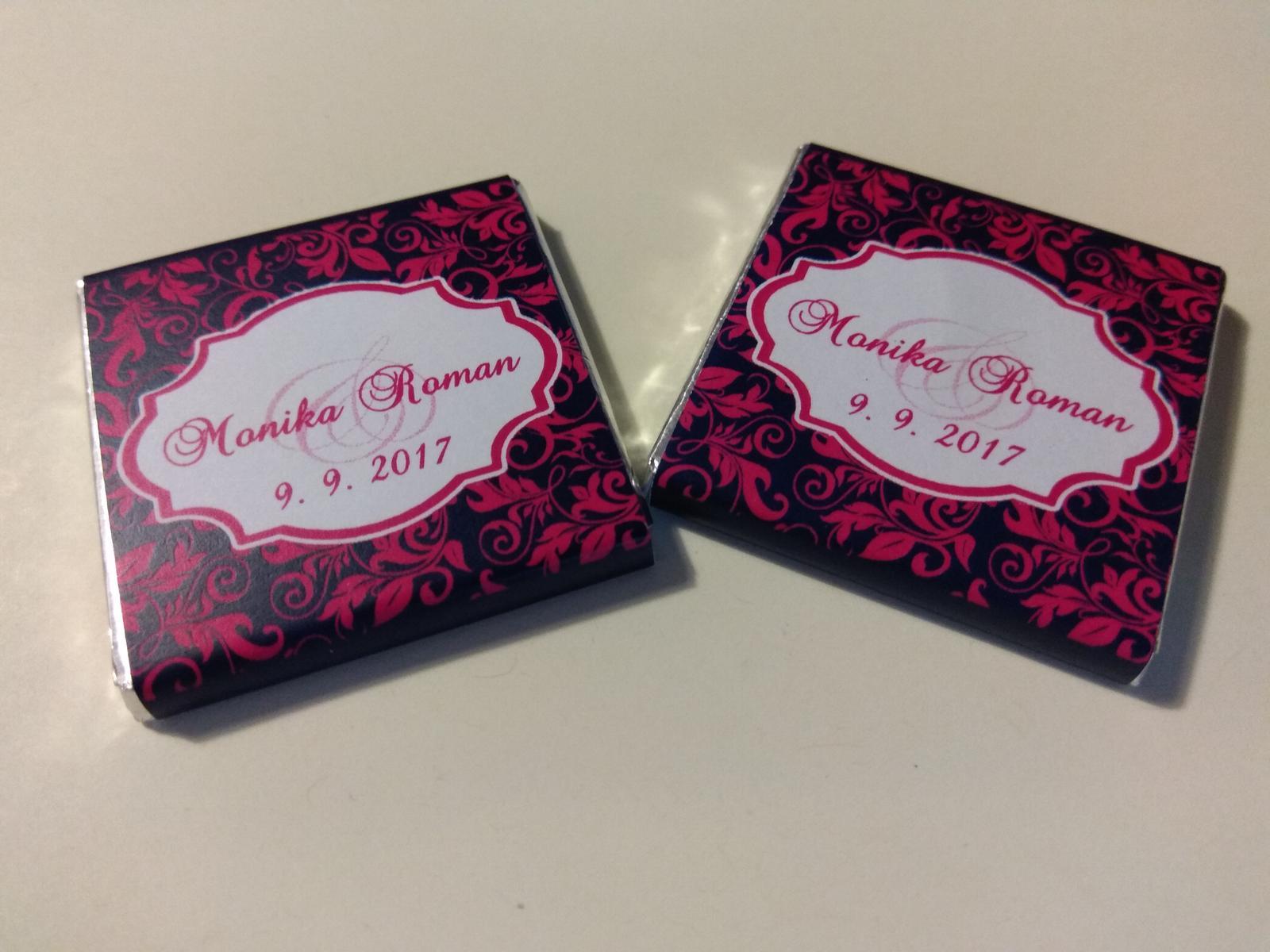 Přípravy na náš velký den D. - Svatební čokoládky