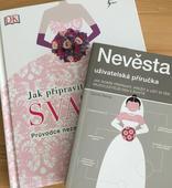Knihy pro plánování svatby,