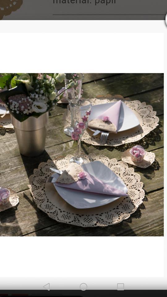 Co už máme - v podobném stylu jen místo obyčejných talířů dřevěné