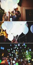 balonky s led světlem na vypouštění balonků přání objednané