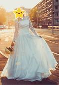 Svadobné šaty_rýchle jednanie zľava, 40