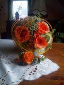 Svatebni kytice + korsaz,