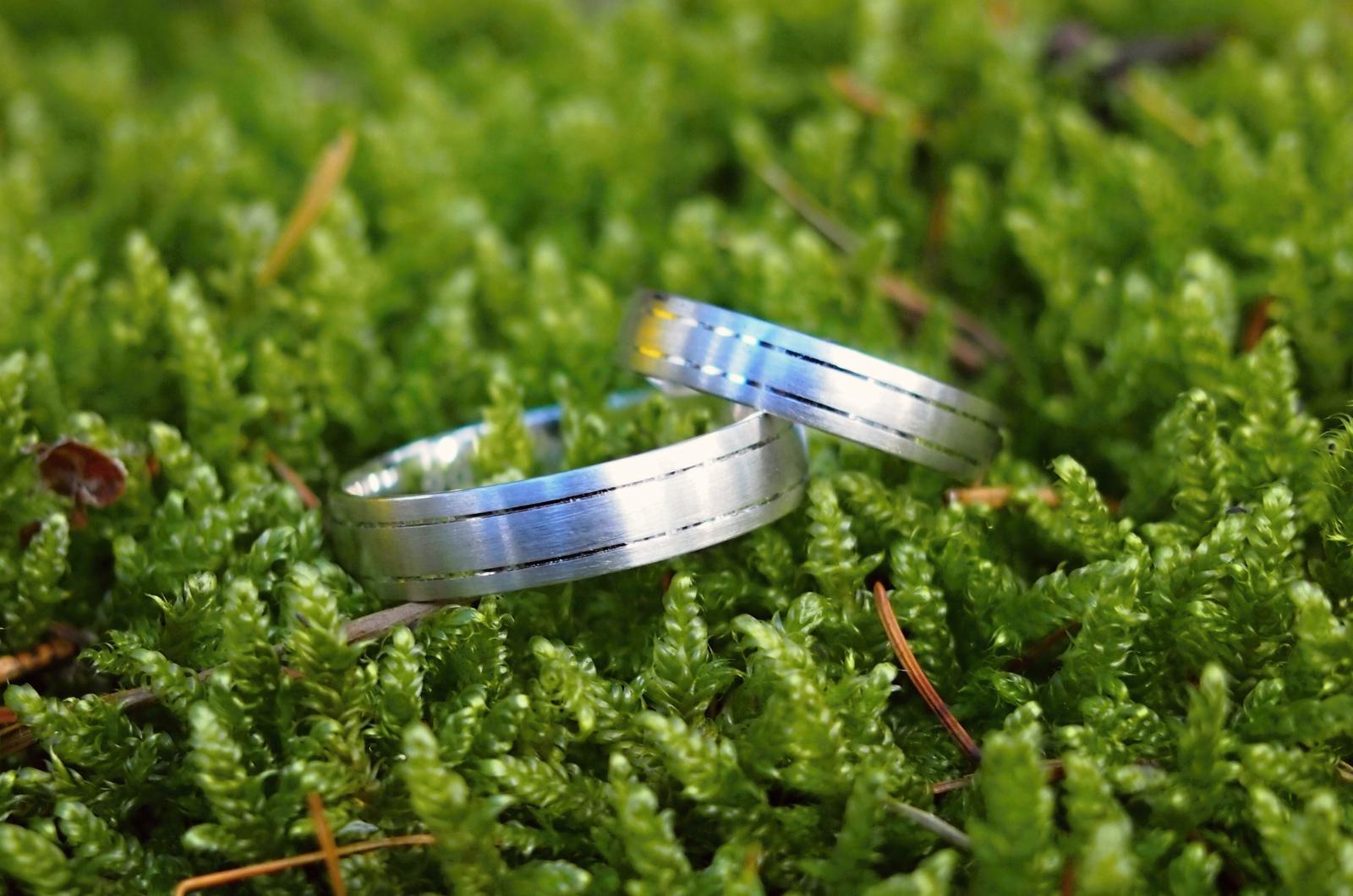 Už je hotovo :-) - snubní prstýnky ... od Rýdla