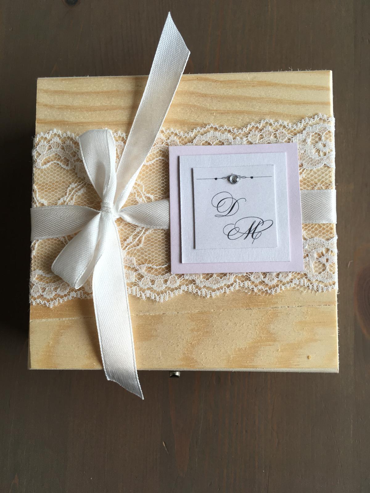 Drevená krabička - Obrázok č. 4