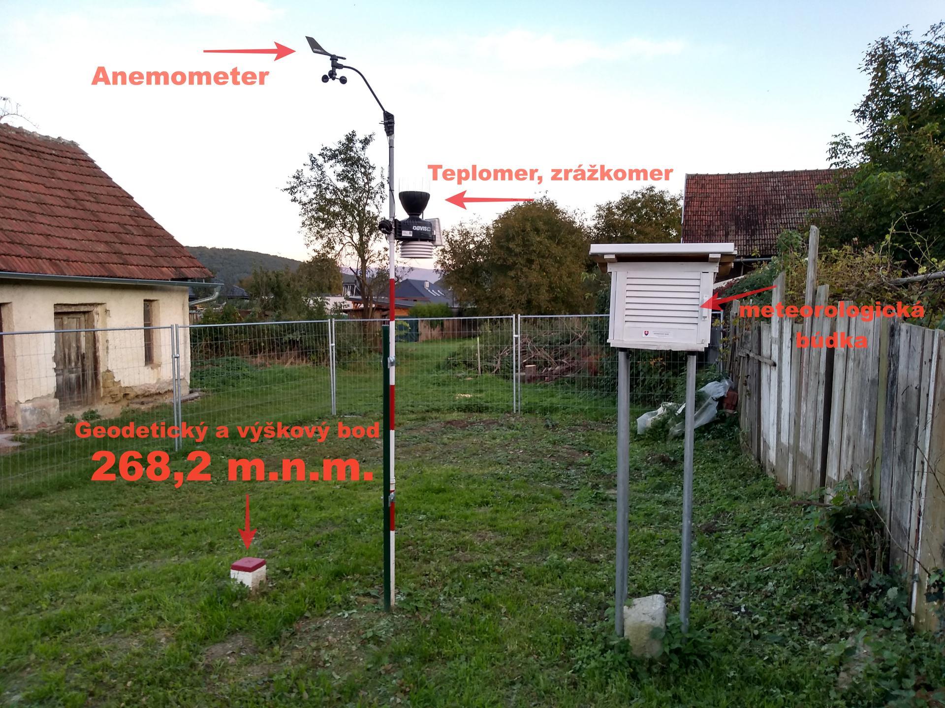 Meteorologická stanica pri dome, na záhrade - Obrázok č. 2