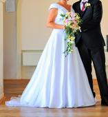 Klasické svatební šaty vel. 42, 42