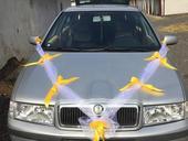 Výzdoba na auta nevěsty + ženicha,