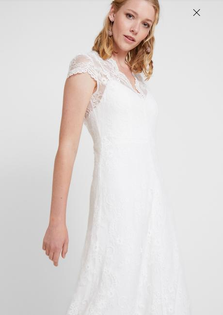 Nové svatební šaty s vysačkou vel. 42 - Obrázek č. 1