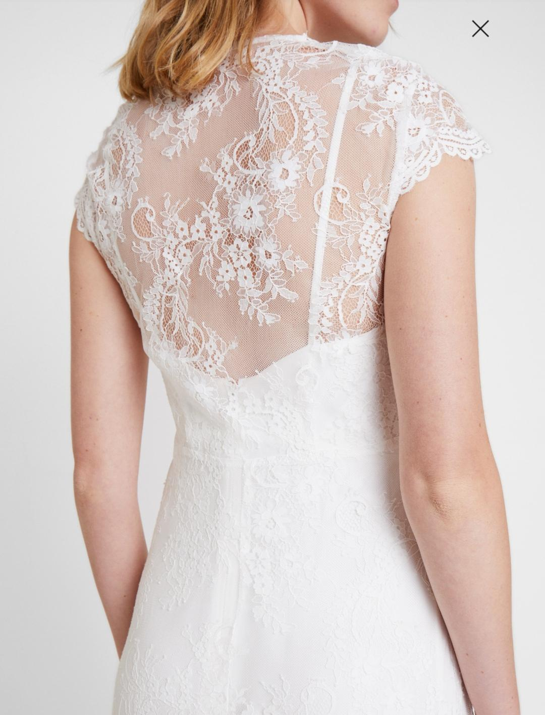 Nové svatební šaty s vysačkou vel. 42 - Obrázek č. 2