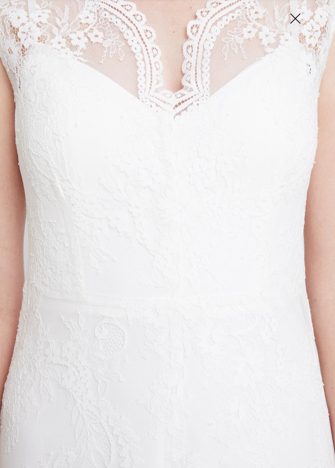 Nové svatební šaty s vysačkou vel. 42 - Obrázek č. 3