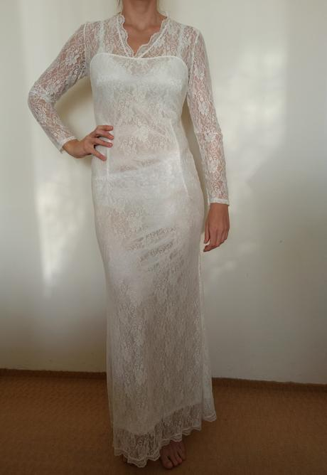 Nové svatební šaty vel. 38-42 - Obrázek č. 1
