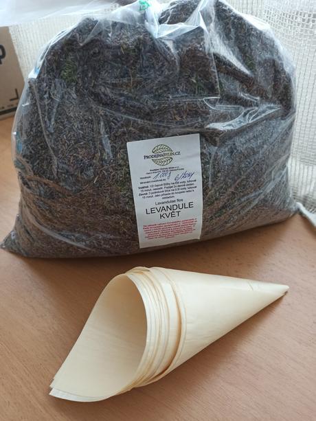 Sušená levandule 1kg - Obrázek č. 1