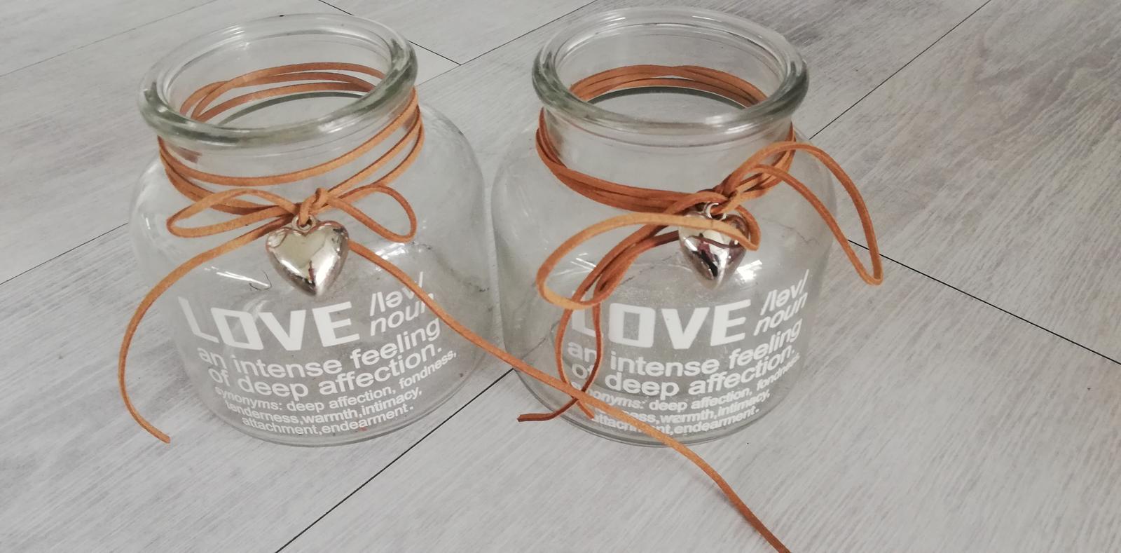 Skleněné vázy / svícny - Obrázek č. 1