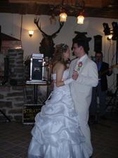 první taneček...