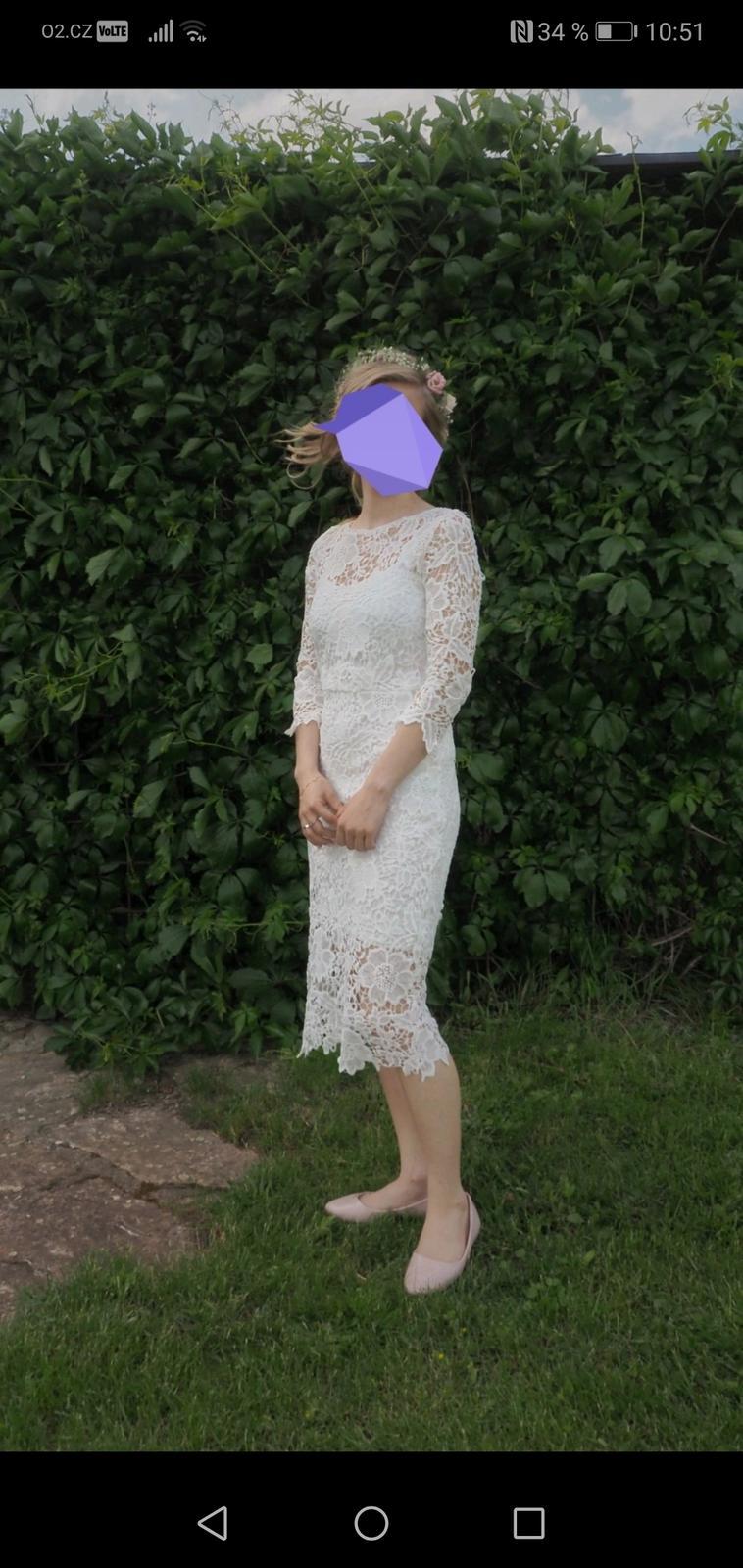 Popůlnoční šaty vel. XS - Obrázek č. 1