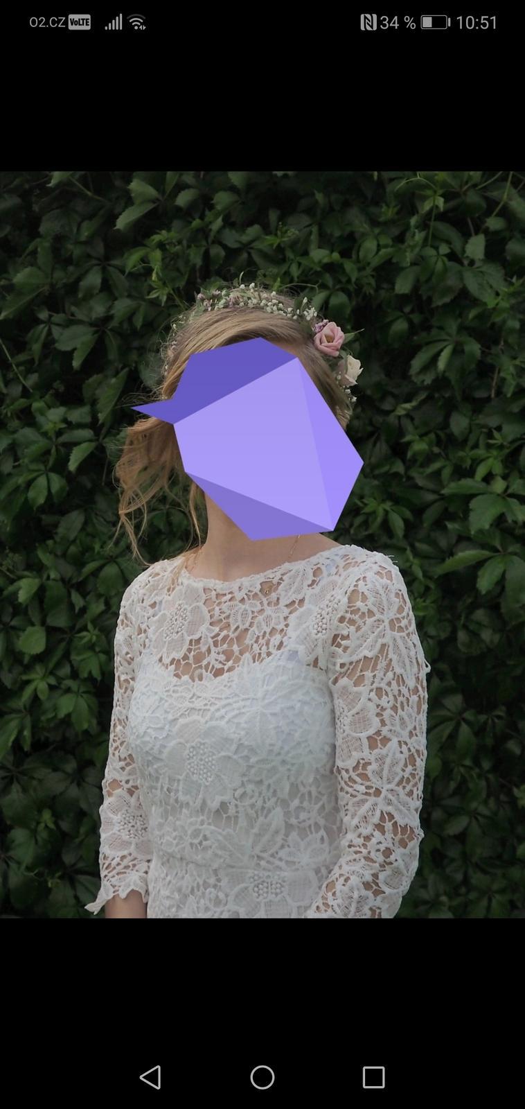 Popůlnoční šaty vel. XS - Obrázek č. 2