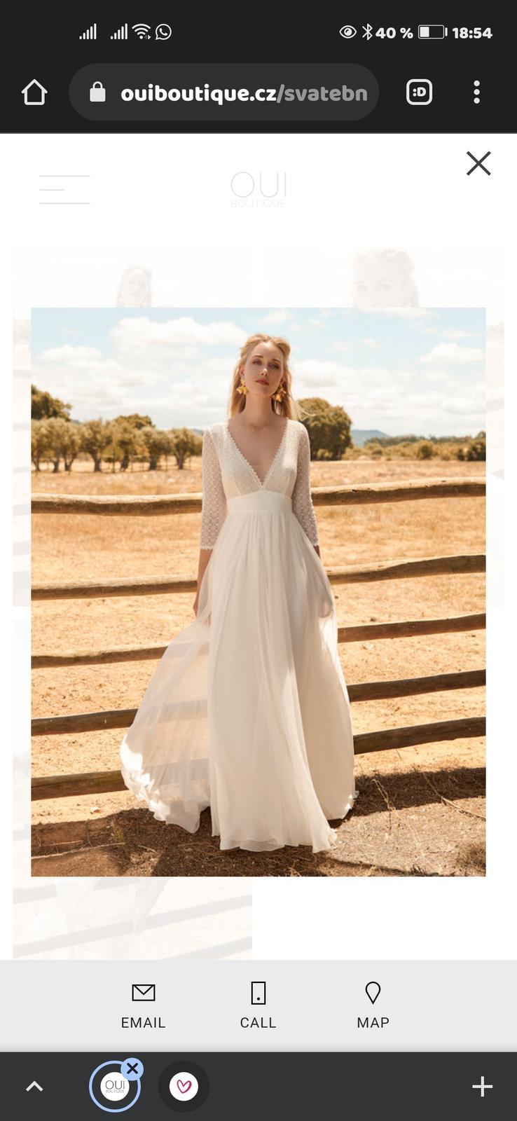 přenechám voucher na svatební šaty - Obrázek č. 1