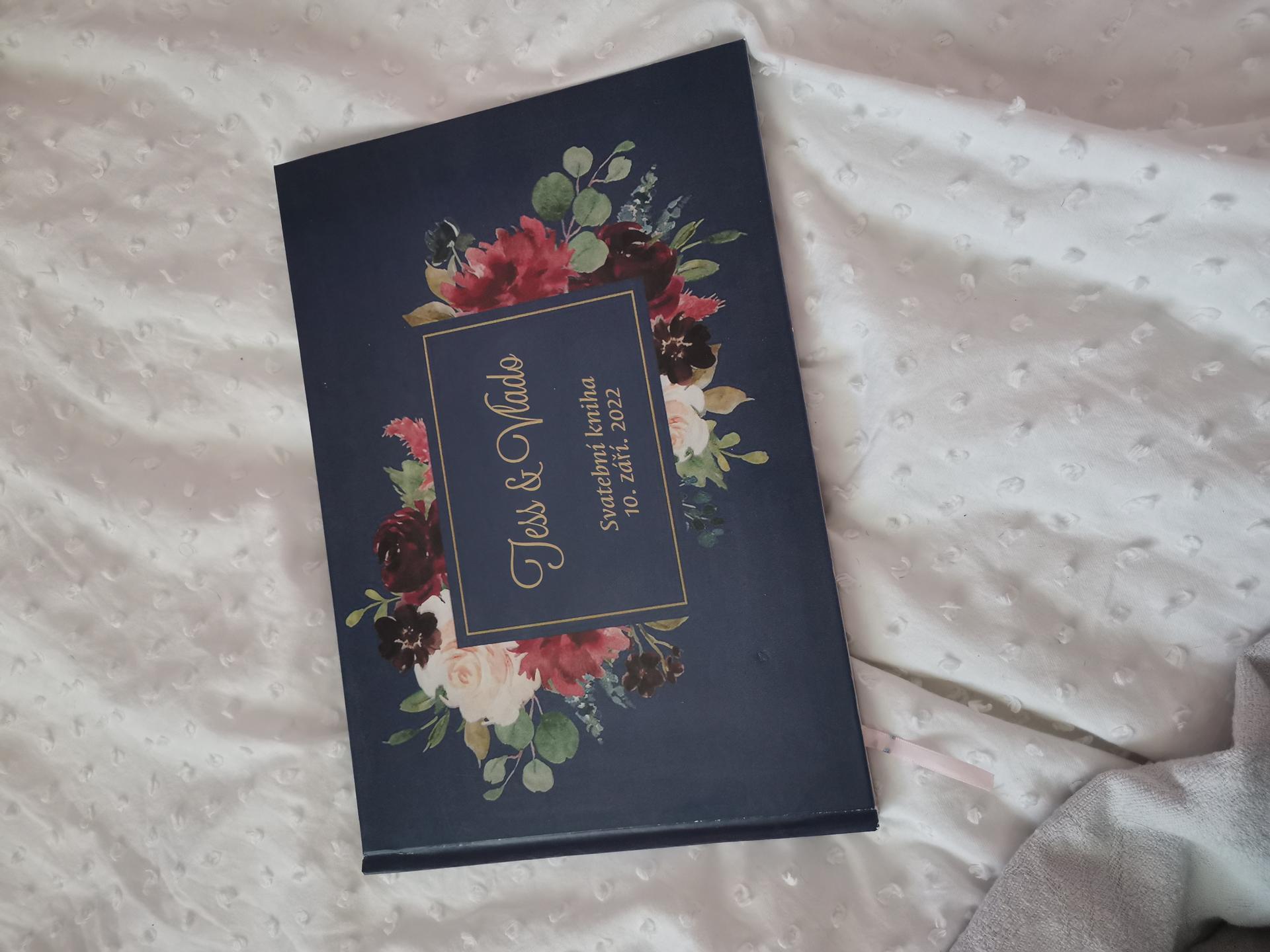 Vrabcovi 10.9.2022 - svatební kniha - ali