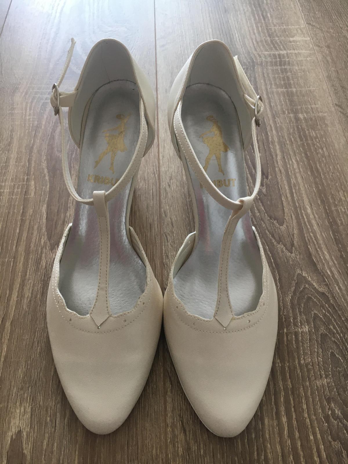Svadobné topánky - nepoužívané - Obrázok č. 1