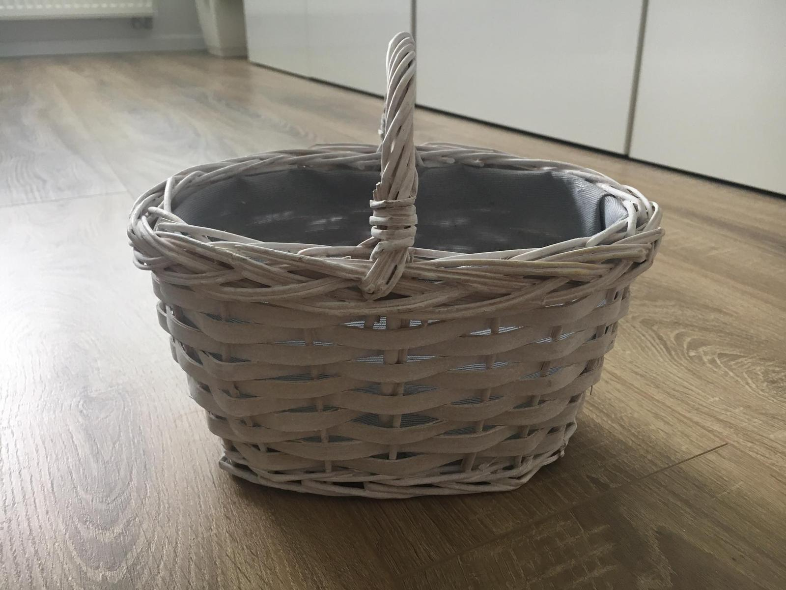 Biely košík - Obrázok č. 1