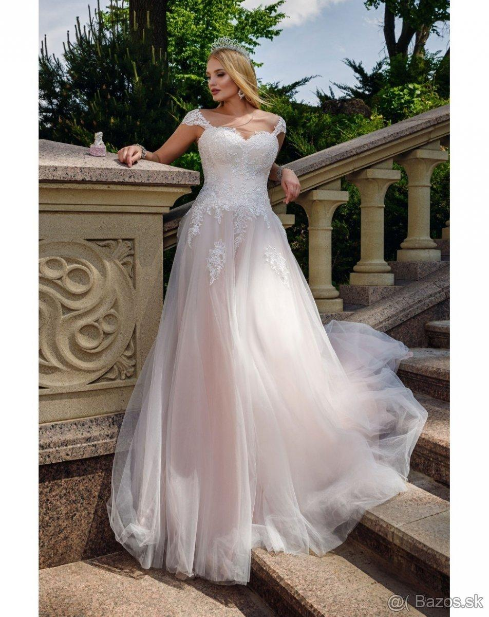 Svadobné šaty pre moletky - Obrázok č. 1