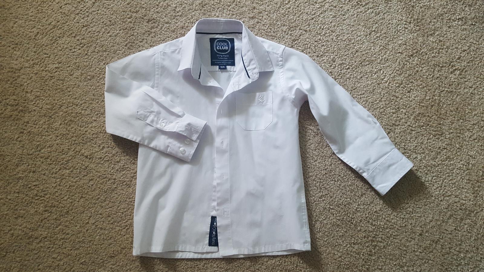 Chlapecka košile vel.104 a 110 - Obrázek č. 1
