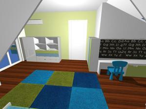 Detska - navrh od Fra, s mini zmenami uz aj postaveny :)