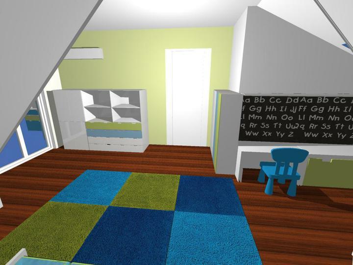 Nas dom - Detska - navrh od Fra, s mini zmenami uz aj postaveny :)