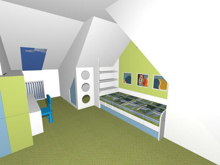Nas dom - Bunker na mieru pod sikminou, zatial iba navrh, ale nam sa veeelmi paci :)