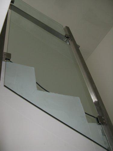 Nas dom - Interierove zabradlie na schodoch detail, 2008