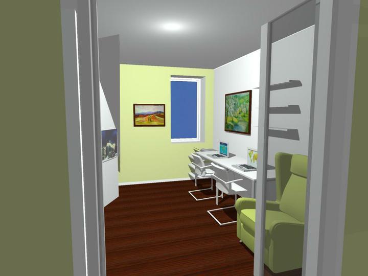 Nas dom - Vizualizacia pracovny stol - od Fra, 2010